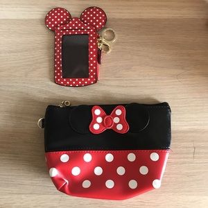 Minnie Mouse purse and coin holder